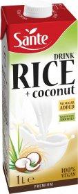 Napój ryżowo-kokosowy Sante, bez dodatku cukru, 1l
