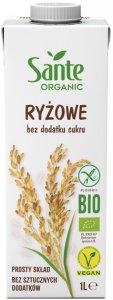 Napój ryżowy Sante Organic, bez dodatku cukru, 1l