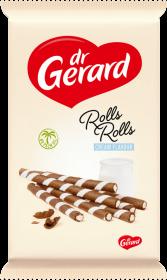 Rurki waflowe Dr Gerard Rolls Rolls Cream Zebra, 160g
