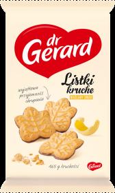Ciastka Dr Gerard listki, kruche, maślany, 165g