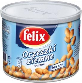 Orzechy ziemne prażone Felix, bez tłuszczu i soli, 140g