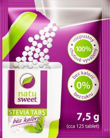 Stewia NatuSweet, w tabletkach, 125 tabletek