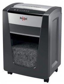 Niszczarka Rexel Momentum X420, konfetti 4x40mm, 20 kartek, DIN P-4, czarny