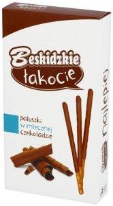 Paluszki w mlecznej czekoladzie Beskidzkie Łakocie, 50 g