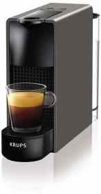 Ekspress Krups Nespresso Essenza Mini XN110B, automatyczny, na kapsułki, szary