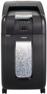 Niszczarka automatyczna Rexel, Auto+ 300M, mikrościnek 2x15mm,  300 kartek, P-5, czarny