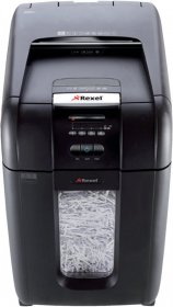 Niszczarka automatyczna Rexel, Auto+ 300X, konfetti 4x40 mm, 300 kartek, P-4, czarny