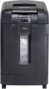 Niszczarka automatyczna Rexel, Auto+ 750X, konfetti 4x40 mm, 750 kartek, P-4, czarny