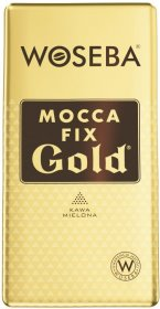 Kawa mielona Woseba mocca fix gold, vacuum, 500g