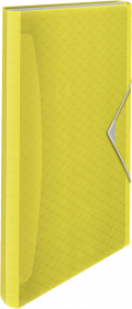 Teczka segregująca Esselte Colour'Ice, A4, 6 przegródek, żółty