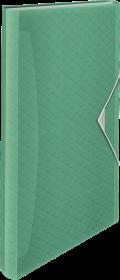 Teczka segregująca Esselte Colour'Ice, A4, 6 przegródek, zielony