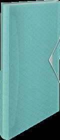 Teczka segregująca Esselte Colour'Ice, A4, 6 przegródek, niebieski