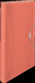 Teczka segregująca Esselte Colour'Ice, A4, 6 przegródek, brzoskwiniowy