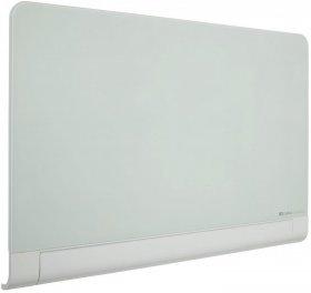 Tablica szklana suchościeralno-magnetyczna Nobo, Diamond, z zaokrąglonymi narożnikami, 99.3x55.9cm, biały