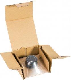 Karton Fix-Box, 225x145x50mm, brązowy