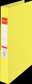 Segregator ringowy Esselte Colour'Ice, 2 ringi, żółty