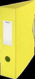 Segregator Esselte Colour'Ice, z polyfoamu, żółty