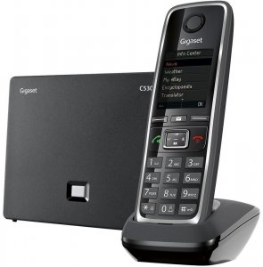Telefon stacjonarny Gigaset C530 IP, czarny
