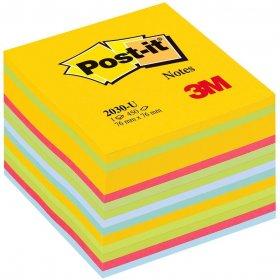 Notes samoprzylepny Post-it, 76x76mm, 450 karteczek, mix kolorów neonowo-pastelowych