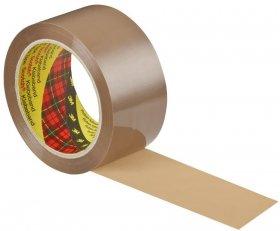 Taśma pakowa Scotch Heavy, bardzo mocna, 50mmx66m, 1 rolka, brązowy