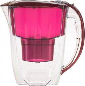 Dzbanek filtrujący Aquaphor Amethyst, 2.8l, wiśniowy + wkład Aquaphor B100-25 Maxfor