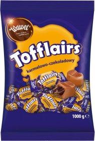 Cukierki Wawel Tofflairs, karmelowo-czekoladowy, 1kg