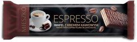 Wafel Mieszko Espresso, kawowy, 34g, 35 sztuk