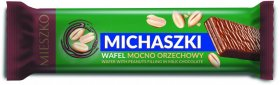 Wafel Mieszko Michaszki, orzechowy, 34g, 35 sztuk