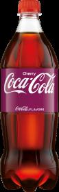 Napój gazowany Coca-Cola Cherry, butelka PET, 0.85l
