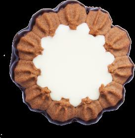 Ciastka kakaowe Delisana Kubanka, z kremem o smaku kokosowym, 1kg