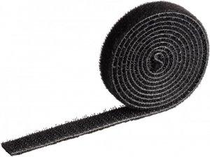 Taśma rzep do spinania kabli Durable Cavoline Grip 10, 1m x 10mm, czarny