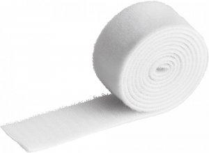 Taśma rzep do spinania kabli Durable Cavoline Grip 30, 1m x 30mm, biały
