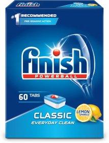 Tabletki do zmywarek Finish Classic, cytrynowy, 60 sztuk
