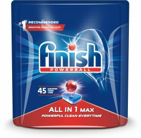 Tabletki do zmywarek Finish All-in-1 Max, regular, 45 sztuk