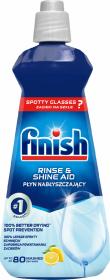 Płyn nabłyszczający do zmywarek Finish Rinse Aid, 400ml, cytrynowy