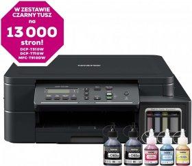 Urządzenie wielofunkcyjne Brother MFP DCP-T510W, z drukarką, kopiarką i skanerem, kolor