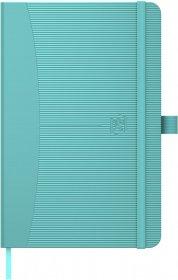 Notatnik w kratkę Oxford Signature Women, A6, twarda oprawa, 80 kartek, mix kolorów