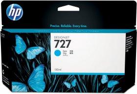 Tusz HP 727 (B3P19A), 130ml, cyan (błękitny)