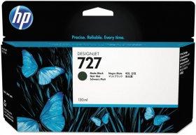 Tusz HP 727 (B3P22A), 130ml, matte black (czarny matowy)