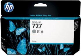 Tusz HP 727 (B3P24A), 130ml, grey (szary)