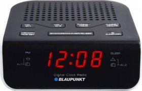 Radiobudzik Blaupunkt CR5WH, czarno-biały