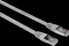 Kabel sieciowy CAT5e STP RJ45 Hama, 1.5m, szary