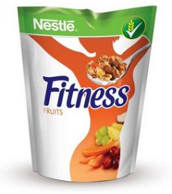 Płatki śniadaniowe Nestle Fitness Fruits z owocami, 225g