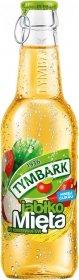 Napój jabłko-mięta Tymbark, butelka szklana, 0.25l