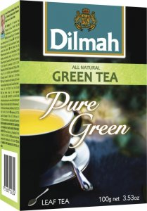 Herbata zielona liściasta Dilmah Green Tea Natural, 100g