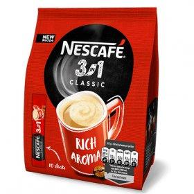 Kawa rozpuszczalna w saszetkach Nescafé 3w1 Classic, 10 sztuk x 16.5g
