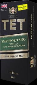 Herbata zielona aromatyzowana w torebkach Tet Emperor Tang Green Tea with Bergamot, z bergamotką, 25 x 2g