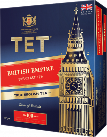 Herbata czarna w torebkach Tet The British Empire, 100 x 2g