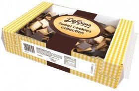 Herbatniki Delisana Delicpolki, podlane polewą kakaową, 800g