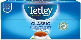 Herbata czarna w torebkach Tetley Classic, 25 sztuk x 1.5g